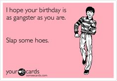 New card I need to start sending out for birthdays.