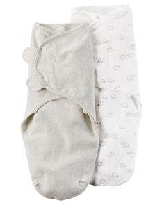 Bundle up your babe in one of these two baby swaddle blanket wraps from Carter's, featuring adorable little elephants on one. Boho Baby Clothes, Gender Neutral Baby Clothes, Unisex Baby Clothes, Toddler Outfits, Kids Outfits, Baby Girl Pajamas, Baby Girl One Pieces, Baby Swaddle Blankets, Baby Necessities