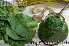 Molho Pesto de Rúcula » Molhos, Receitas Saudáveis » Guloso e Saudável