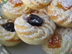 The History of Pasta in Italian Food Italian Cookie Recipes, Italian Cookies, Italian Desserts, Mini Desserts, Cookie Desserts, Italian Dishes, Italian Pastries, Biscotti Cookies, Bakery Recipes