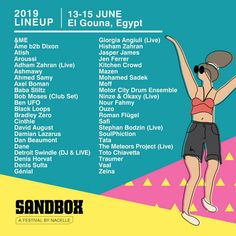 All about Sandbox Festival and all the best music festivals around the world, including news, lineups, locations and tickets! Festivals Around The World, Music Festivals, Sandbox, Lineup, Good Music, African, Sand Pit