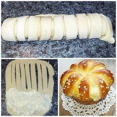 TraRita sütödéje és egyéb munkái : Sajtos muffin Muffin, Hamburger, Pizza, Bread, Ethnic Recipes, Food, Brot, Essen, Muffins