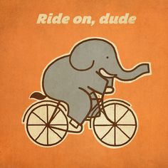 Ride on, dude by Terry Fan #Illustration #Terry_Fan