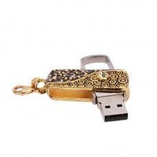 4GB Rectangular Classical Jewellery USB Flash Drive