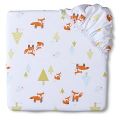 Circo® Woven Woodland Fitted Crib Sheet-- my child WILL have this!