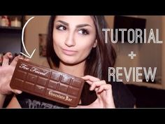 "NEW Too Faced ""Chocolate Bar"" Palette Review & Tutorial!"