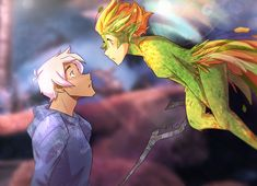 Plance Rise of the Guardians AU anyone?? XD XD With Lance Frost and Tooth Pidgey ahahah!! I have to say, Pidge's design was a little tricky, but im pretty happy with how it turned out ^-^ I seriously love this movie, its one of my favorites!!
