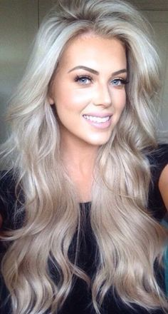 ashy platinum blonde highlights - Google Search