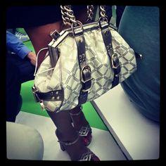 #versace #bag da #versace #elle_italia #elle #mfw #moda #borsa