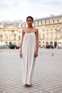 Simple summer maxi #style #fashion