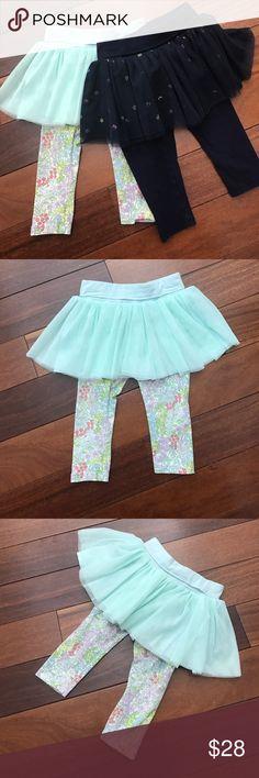 Baby girl tutu Adorable leggings with tutu super cute for baby girls good conditions. GAP Bottoms Leggings