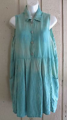 vintage-FLAX-Jeanne-Engelhart-garment-dyed-dress-S
