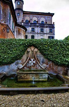 Villa del Priorato di Malta, located on the Aventine Hill, Rome Italy, is home to the Grand Priory in Rome of the Sovereign Military Order of Malta.