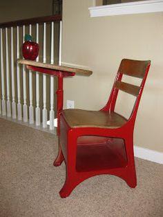 "life.love.larson: ""Old School"" Desk"