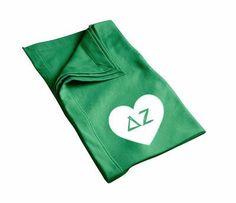 Delta Zeta Blanket . Heart Design Shop the #DeltaZeta collection at M&D Sorority Gifts. 300+ items.
