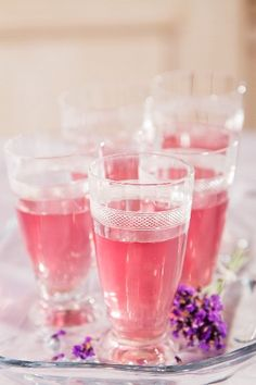 Pink drinks  | More foodie lusciousness here: http://mylusciouslife.com/photo-galleries/wining-dining-entertaining-and-celebrating/