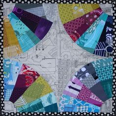 153 best dresden plate and fan quilts images on Pinterest ...