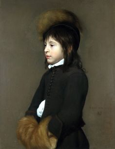 Full title: Portrait of a Boy aged 11. Artist: Jacob van Oost the Elder. Date made: 1650.