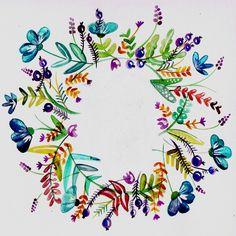 www.marenschmidt.de Blumenranke