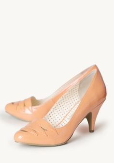 Hunter Indie Pumps In Coral at #Ruche @Ruche