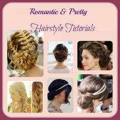Romantic and Pretty #Hairstyles Tips & #Tutorials! Have Beautiful #Hair!  via www.sassygirlz.net