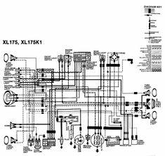 xl175 wiring diagram wiring data u2022 rh upvoter co Honda SL100 Honda XL200