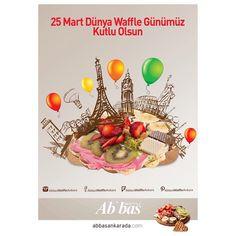 Dünya Waffle Günümüz kutlu olsun.