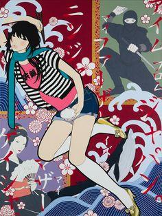 アイムフロムジャパン。マイファーザーイズニンジャ、マイマザーイズゲイシャ。/I'm from Japan. My Father is Ninja. My Mother is Geisha.