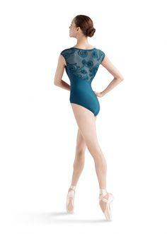 ccf9b94a0d good color and everything else. Bloch Myrtle Swirl Mesh Cap Sleeve Leotard  Dance Shoes