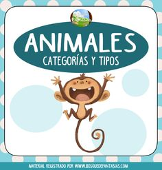tipos de animales hoja portada Fine Motor Skills, First Grade, Habitats, Homeschool, Language, Education, Christmas Ornaments, Learning, Lettering