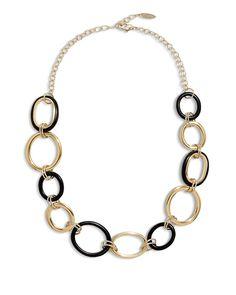 Chico's Women's Zoe Link Necklace