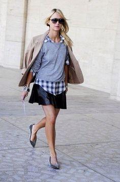 plaid made chic   Street Style, Fashion Outfits, Womens Fashion, Girl  Fashion d05d9922a2