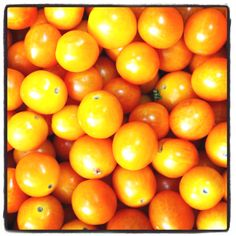 Cherry tomatoes in the market