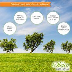 """""""CONSEJOS PARA CUIDAR DEL MEDIO AMBIENTE""""    #Natural #Planeta"""
