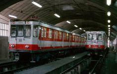 Madrid, Ferrocarriles y Transportes Urbanos: Inventario del material móvil del metro de Madrid. Los coches 1000 (II). La segunda serie.