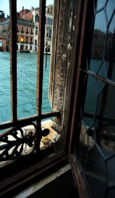 Venice, Italy - Waterfront views were hard to escape. Watching the local fisherman pulling in his haul of fresh mussels on the tiny boat below our window was one of those tiny memories that puts a smile on my face.