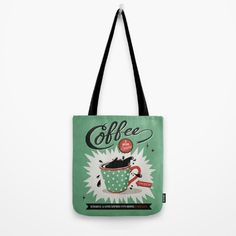 Saved By Coffee Tote Bag