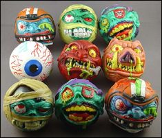 Madballs. Never owned any of these myself but I thought they were sooo cool.