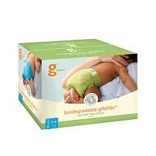 gDiapers Biodegradable gRefills 160 Ct - Newborn/Small--a good alternative to cloth/traditional?