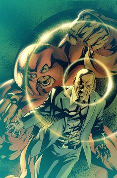 Juggernaut and his half-brother, Professor Charles Xavier #xmen