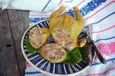 Pui umplut sau toba de pasare Instant Pot, Tapas, Romanian Food, Romanian Recipes, Smoking Meat, Zucchini, Easy, Sausage, Turkey