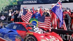 Jamie McMurray and Kyle Larson share Rolex 24 win - http://www.pitstoppost.com/jamie-mcmurray-and-kyle-larson-share-rolex-24-win/