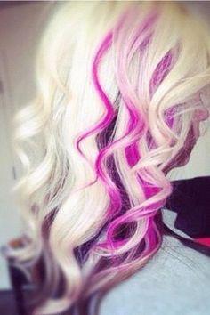 Pink streaks
