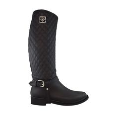 Quilted #Dav rain boots will set you apart from the others