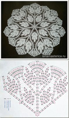 Crochet Mandala Coaster Rugs New Ideas Crochet Tablecloth Pattern, Free Crochet Doily Patterns, Crochet Doily Diagram, Crochet Mandala, Crochet Chart, Thread Crochet, Crochet Motif, Crochet Designs, Crochet Flowers