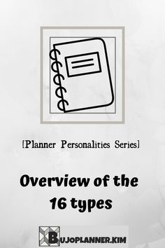 This article will give an overview of the 16 planner personality types from the Planner Personalities Series. It will enable you to work out what style you might want to go towards in your bullet journal. You will see real life examples from Instagram, so you can get inspired for your own bullet journal or planner. This will help give clear direction to know what kind of planner you need in order to make sure you open and use it every day. Bullet Journal How To Start A, Bullet Journal Junkies, Bullet Journal Layout, Bullet Journal Inspiration, Bullet Journals, We Never Change, Need Motivation, Life Organization, Personality Types