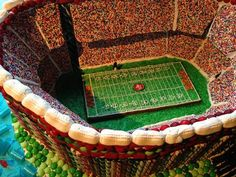Waterbar unveils gingerbread replica of Candlestick Park: Candystick