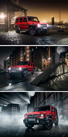 King of the night. Stefan Bischoff (www.addictedtolight.com) for #MBsocialcar [Mercedes-AMG G 63 | Fuel consumption combined: 13.8 l/100km | combined CO₂ emissions: 322 g/km | http://mb4.me/efficiency_statement]