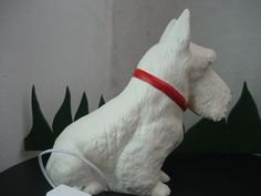Lamp heico terrrier scotty dog hond hund baby child night + #Heicofromgermany #Childrensandmothers