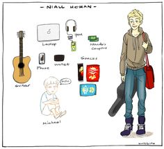 Guess What's in the Bag: Niall Horan Edition  -H
